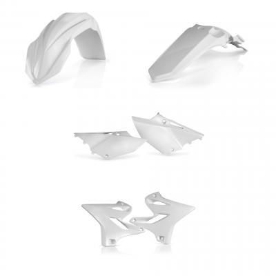 Kit plastiques Acerbis Yamaha 125/250 YZ 15-21 blanc