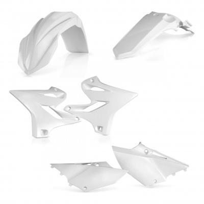 Kit plastiques Acerbis Yamaha 125 YZ 2018 blanc