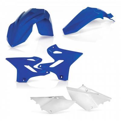 Kit plastiques Acerbis Yamaha 125 YZ 2018 blanc/bleu (couleur origine)