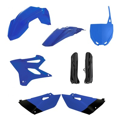 Kit plastiques complet Acerbis Yamaha 85 YZ 19-21 bleu/blanc/noir (couleur origine)