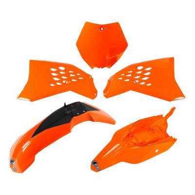Kit plastiques UFO KTM 65 SX 12-15 orange