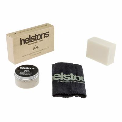 Kit produits d'entretien cuir Helstons N° 3 gras incolore