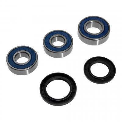 Kit roulements de roue arriere pour zx6r, zx10r, versys, z750, s, vn900