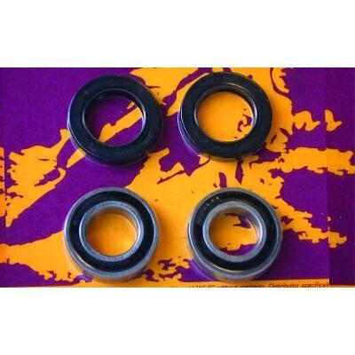 Kit roulements de roue avant pour yamaha yz125/250/400/426 1998-05 et yz/wr450f 2003