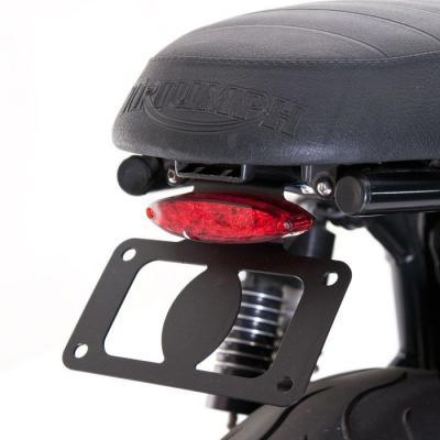 Kit suppression de garde boue arrière Cateye British Customs pour Triumph Bonneville T100 EFI 09-16