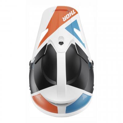 Kit visière Thor pour casque Sector Blade blanc/navy