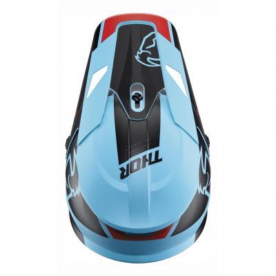Kit visière Thor pour casque Split Mips bleu/noir