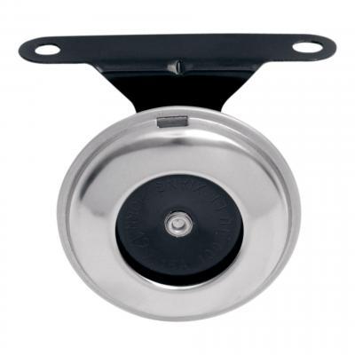 Klaxon 12V Chris Products 63,5 mm chrome et noir