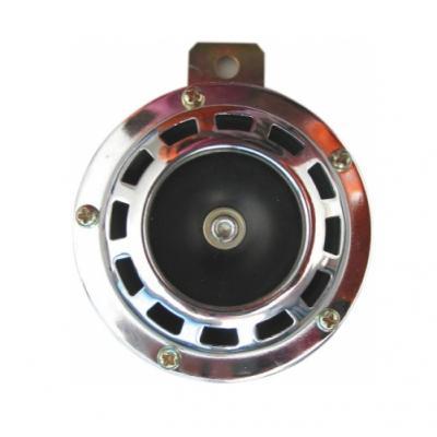 Klaxon moto chromé 105 db 12 V