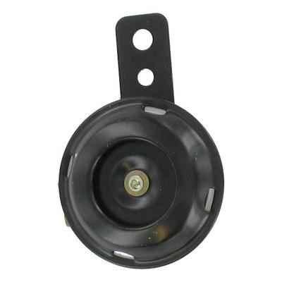 Klaxon noir Ø 66mm 12V 1.5A