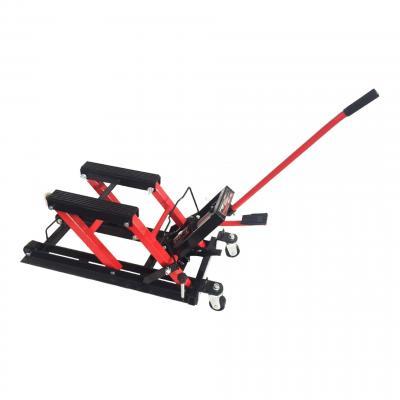Lève moto/quad hydraulique sur roulettes