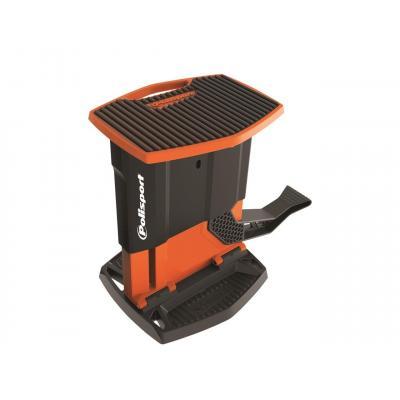 Lève-moto Polisport pliable orange