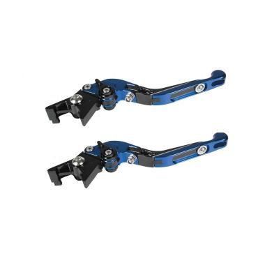 Levier d'embrayage + frein Chaft bleus retournable