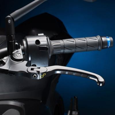 Levier d'embrayage rabattable Lightech type Alien noir pour Yamaha MT-10 16-17