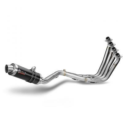 Ligne complète 4x2x1 MIVV GP Steel noir Honda CBR650F 14-