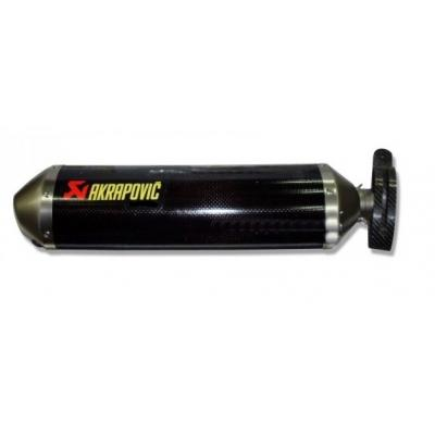 Ligne complète Akrapovic Racing line carbone Yamaha T-Max 01-07