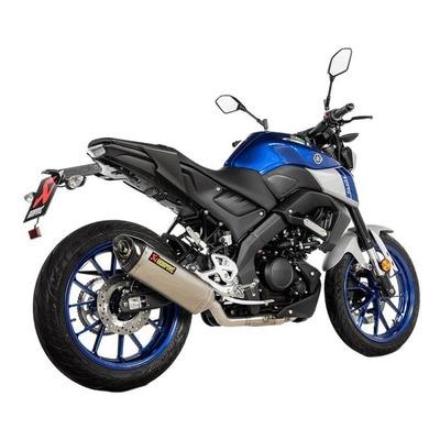 Ligne complète Akrapovic titane embout carbone Yamaha YZF-R 125 2021