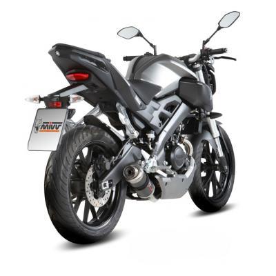Ligne complète inox homologuée MIVV GP carbone Yamaha MT125 15-