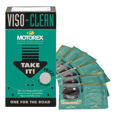 Lingettes nettoyantes Motorex Viso Clean pour casque