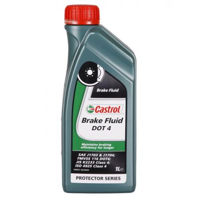 Liquide de frein Castrol Brake Fluid DOT 4 1L