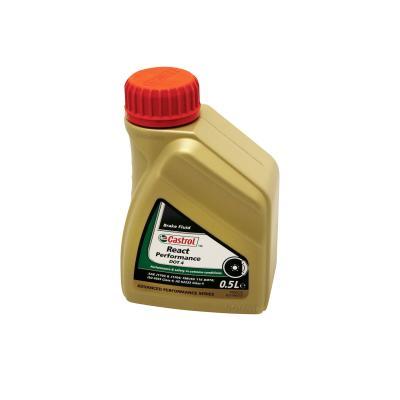Liquide de frein Castrol React Performance DOT 4 500ML