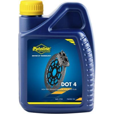 Liquide de frein Putoline Brake Fluid DOT 4 (1 Litre)