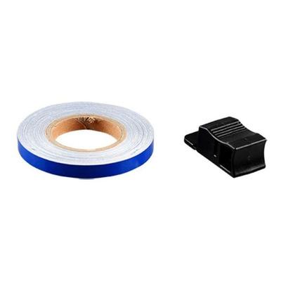 Liseret de jante Blackway bleu 7 mm avec applicateur