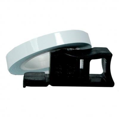 Liseret de Jante Chaft blanc 7mm x 1,5m avec applicateur