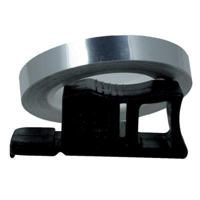 Liseret de Jante Chaft chromé 7mm x 1,5m avec applicateur