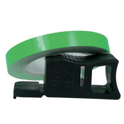 Liseret de Jante Chaft vert fluo 7mm x 1,5m avec applicateur