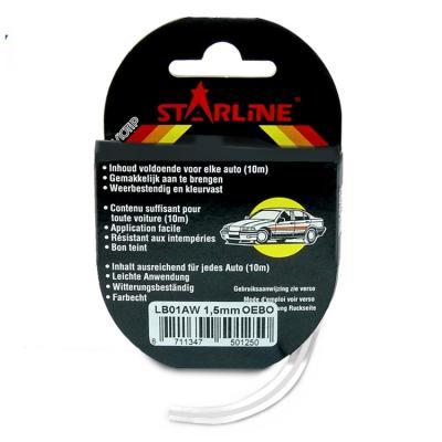 Liseret Tuning Starline 10m x 1.5mm, blanc