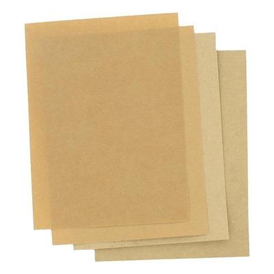 Lot de 3 feuilles de joint à découper papier huilé 200x150mm Brazoline