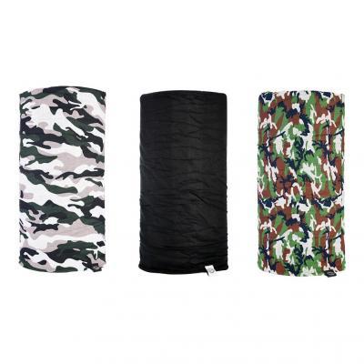 Lot de 3 tour de cou Oxford Comfy camouflage