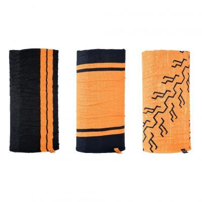 Lot de 3 tour de cou Oxford Comfy HD Colours noir/orange