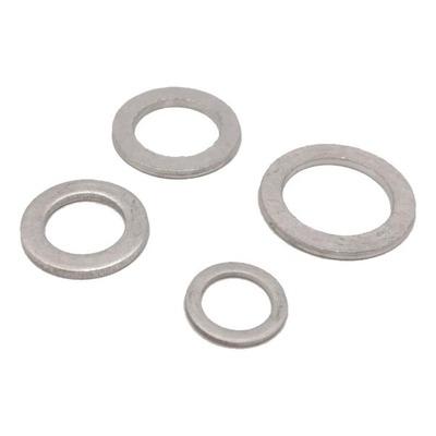 Lot de 4 joints de bouchon de vidange aluminium M8/10/12/14 Brazoline