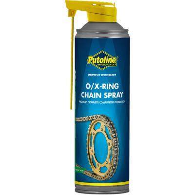 Lubrifiant chaîne Putoline O/X-Ring Chainspray aérosol (500ml)