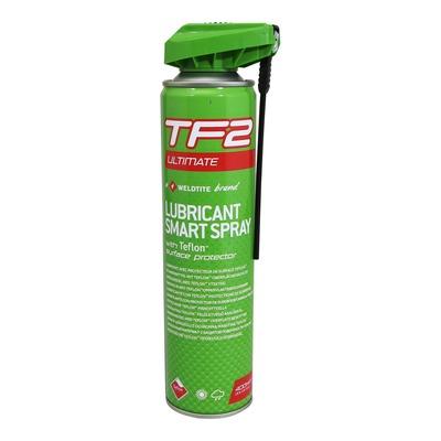 Lubrifiant Weldtite TF2 Ultimate avec nouvelle tête pour toutes les conditions (400ml)