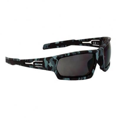 Lunette de soleil S-Line N°15 verres fumés noir monture camouflage