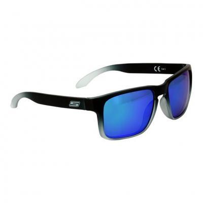 Lunette de soleil S-Line N°20 verres iridium bleu/vert monture noir mat
