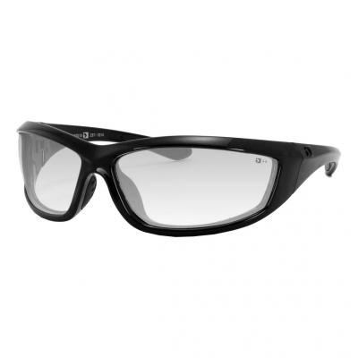 Lunettes Bobster Charger noir gloss / clair