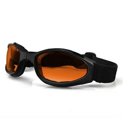 Lunettes Bobster Crossfire noir mat / ambre