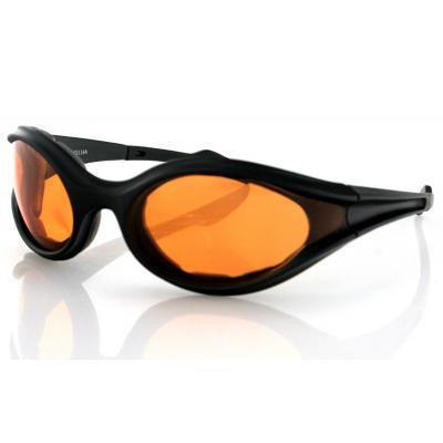 Lunettes Bobster Foamerz noir mat / ambre