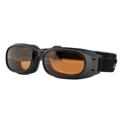Lunettes Bobster Piston noir mat / ambre