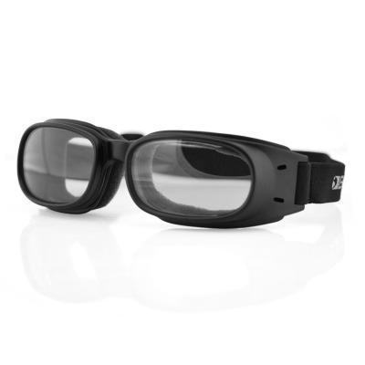Lunettes Bobster Piston noir mat / clair