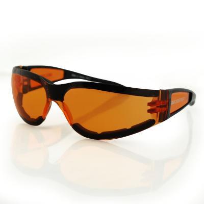 Lunettes Bobster Shield II noir gloss / ambre