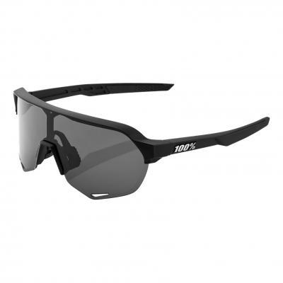 Lunettes de soleil 100% S2 Sport Performance- Soft tact black- fumé