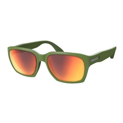 Lunettes de soleil Scott C-Note vert/rouge chrome