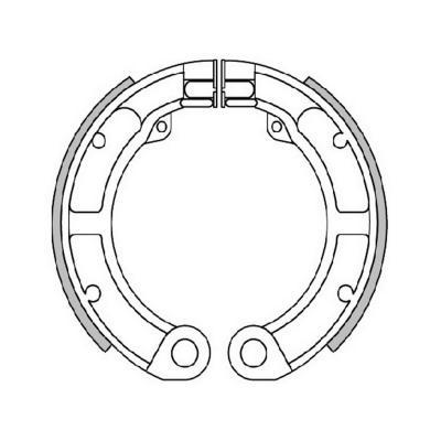 Mâchoires de frein Polini Original pour Vespa 50 Special