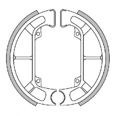 Mâchoires de frein Polini Original pour Storm/Typhoon/NTT/Quartz/ZIP Fast Rider