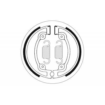Mâchoires de frein SBS 2041